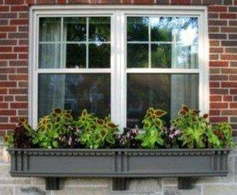 Jeff quirk 39 s works for Craftsman style window boxes